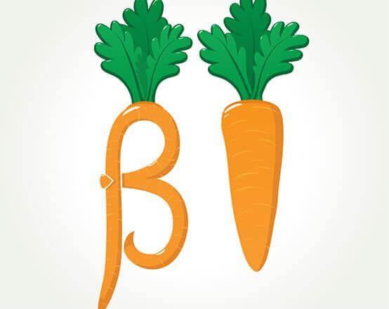 Did you Know? One of the most important nutrients for the body is Beta Carotene